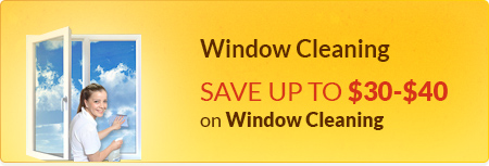 Save Up $30-$40 On Window Cleaning